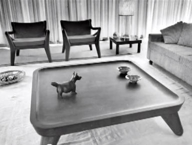 Totonaca Lounge designed by Clara Porset (1958)
