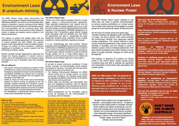 environmental laws flyer