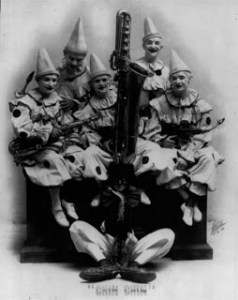 Photo of the Famous Brown Saxaphone Band