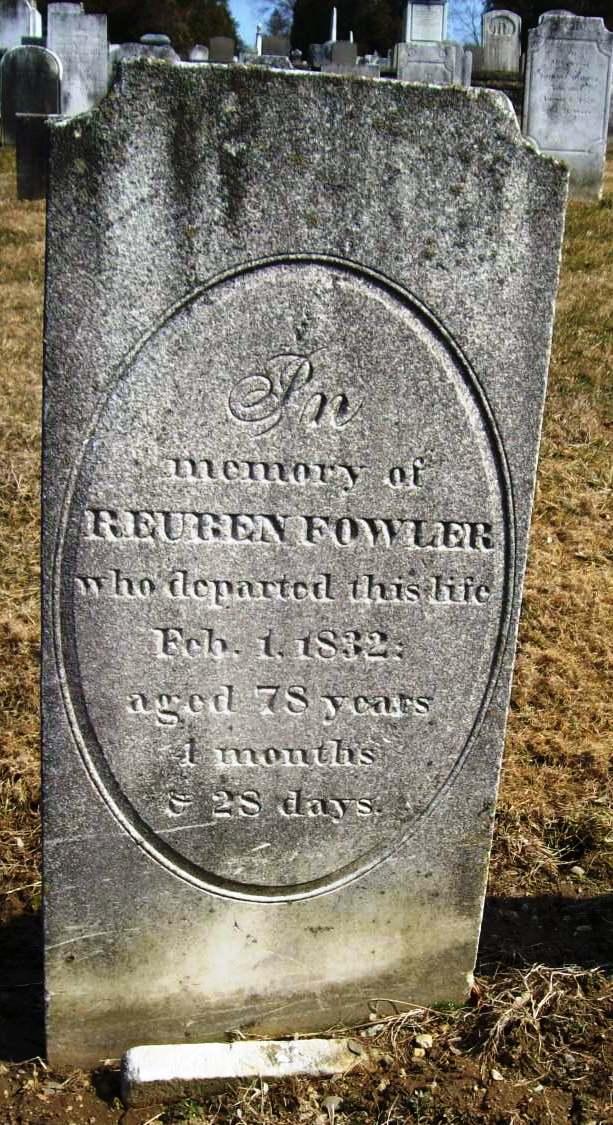 Bio – Reuben Fowler (1753-1832)