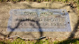 Marker - Arthur Durwood Brown