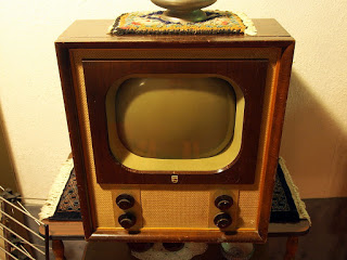 Old Philips television set