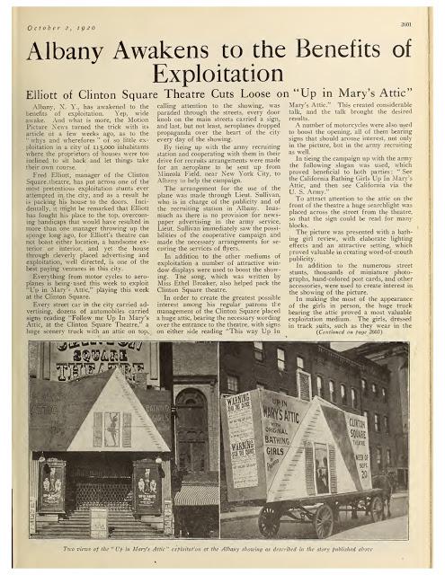 Albany Awakens to the Benefits of Exploitation