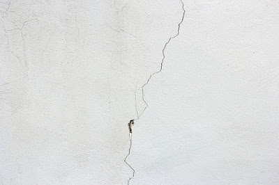 Blank Wall with Crack