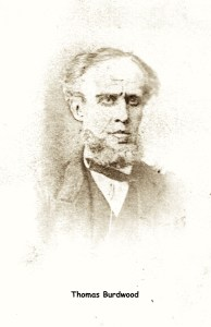 Drawing of Thomas Burdwood