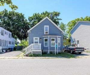 Zillow photograph of 131 Stanford, South Portland as it is today.