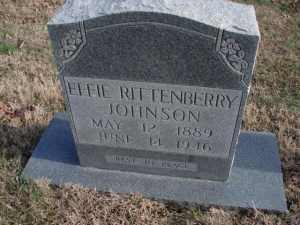 Photo of the marker of Effie Rittenberry Johnson
