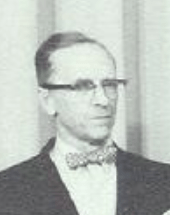 Photo of Mr. Goodrich in 1963