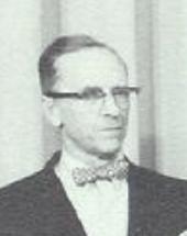 Photo of Mr. Goodrich in 1963