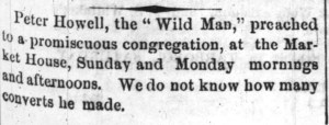 From the Wilmington Post, Wilmington, North Carolina 11 March 1869, Page 1, Column 1.