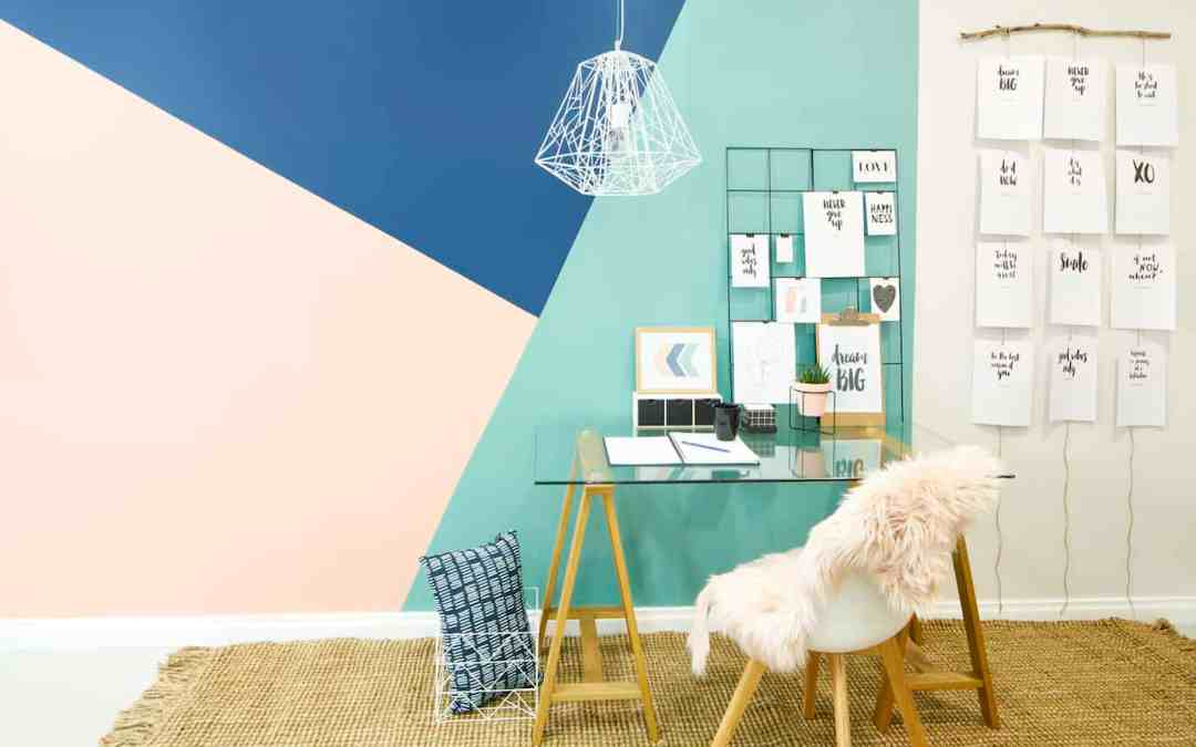 DIY: Painted Shapes To Flatter Any Home, with Shaynna Blaze