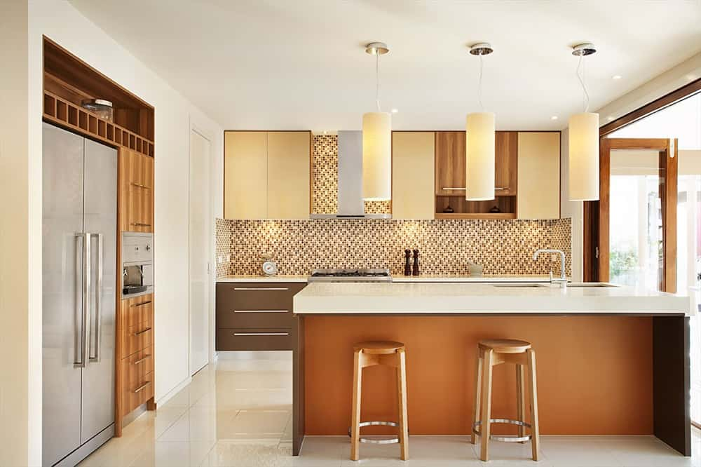 Tiled Kitchen Splashbacks Back On Trend