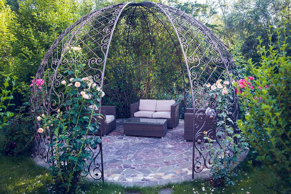 Steel Pergolas: Strength + Styling With Low Maintenance - Steel Pergolas: Strength + Styling With Low Maintenance - Don't Call
