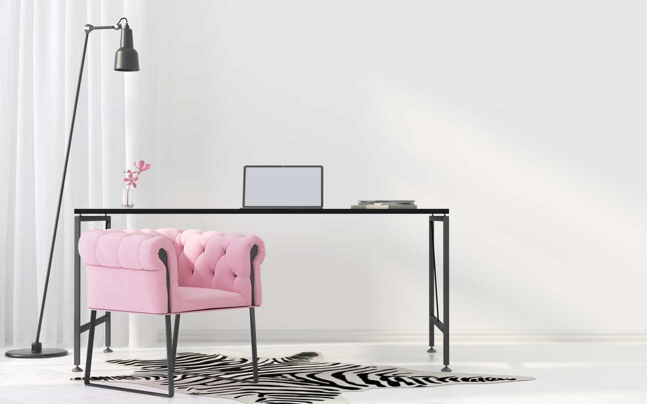 Feminine Inspired Workspaces for Hardworking Women