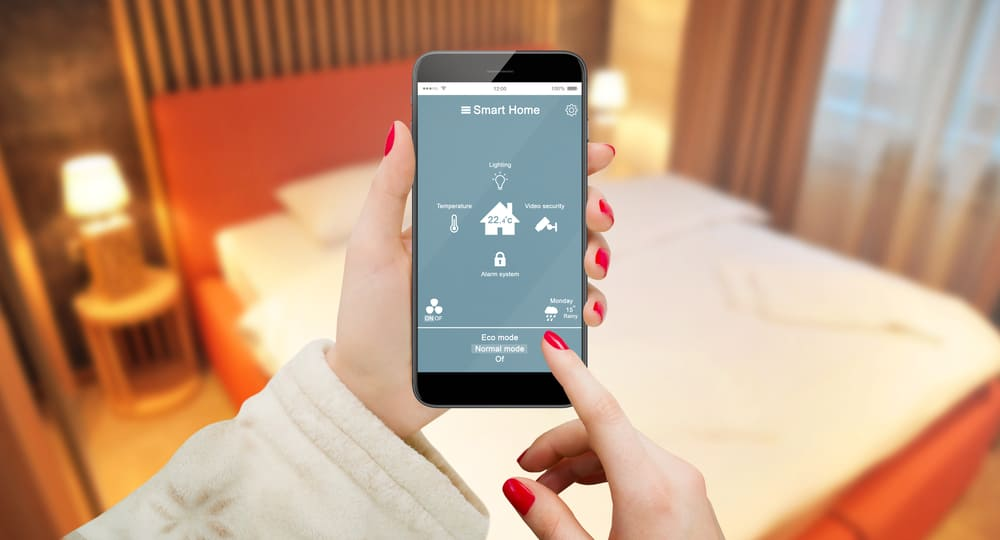 technology meets interior design