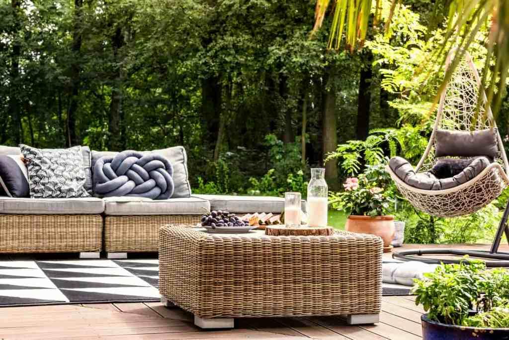 luxurious backyard retreat