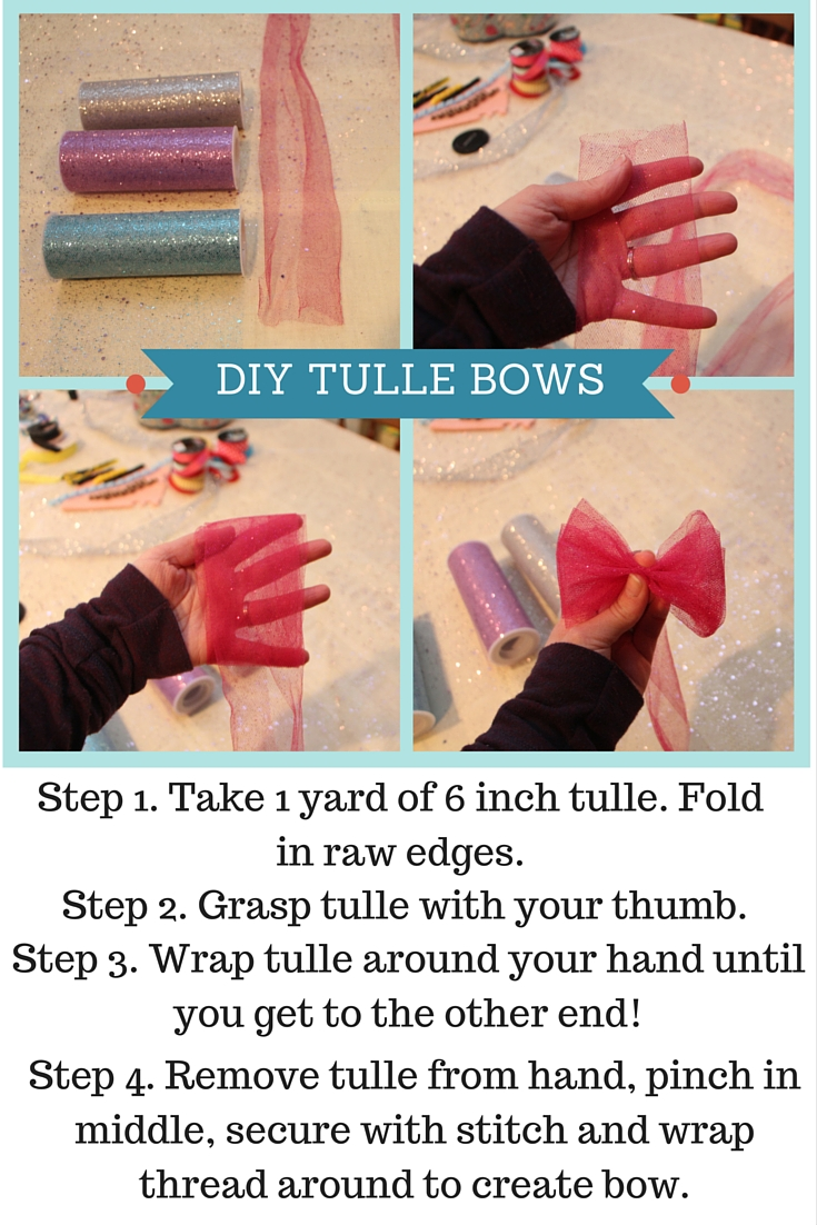 DIY Tulle Bows!