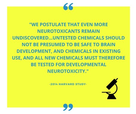 Harvard - quote - neurotoxins