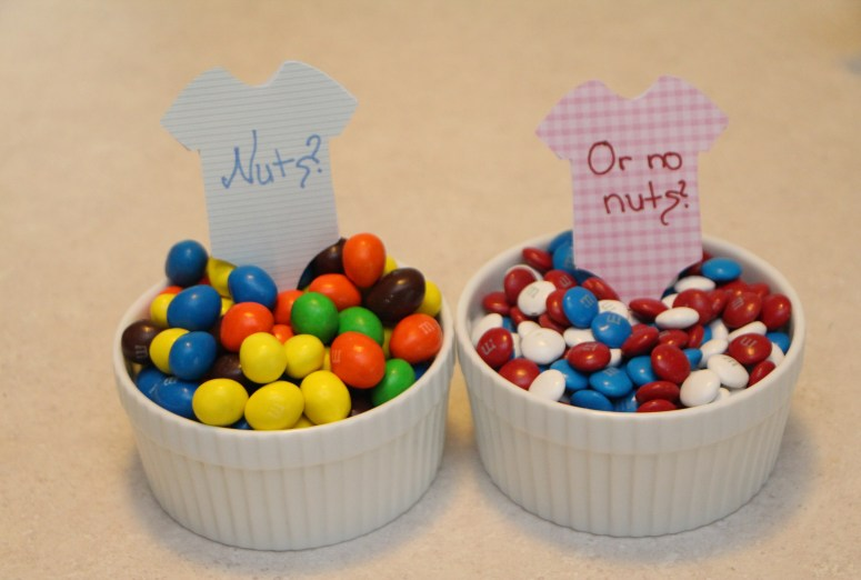 Gender Reveal Party M&M's