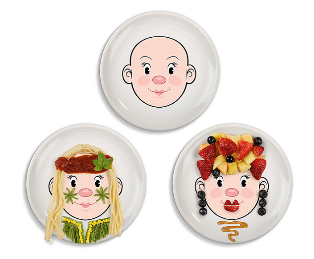 Toddler gift idea plate
