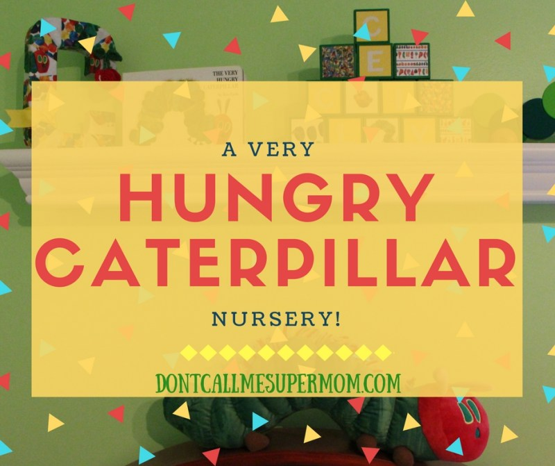 A Very Hungry Caterpillar Nursery theme
