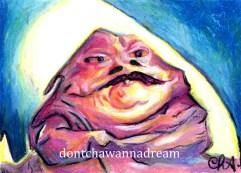 Star Wars - Pink Jabba