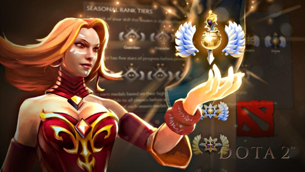 Dota 2 Introduces New Multi Tiered Rank Medal System In Latest Seasons Update