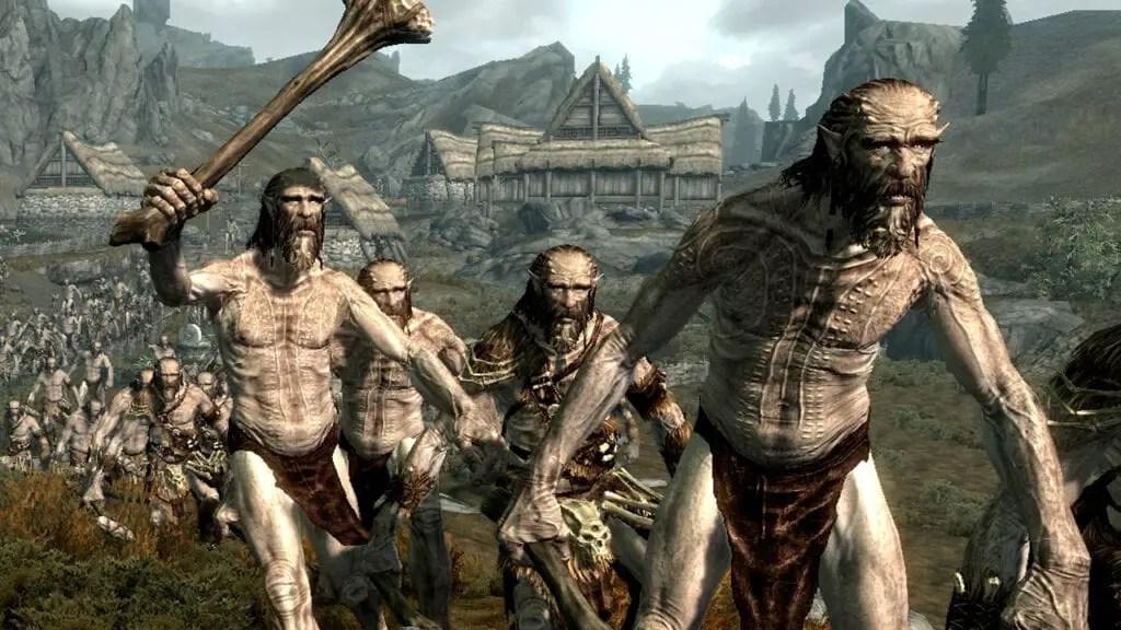 Skyrim Giants Based On Bethesda Artists Father Artist