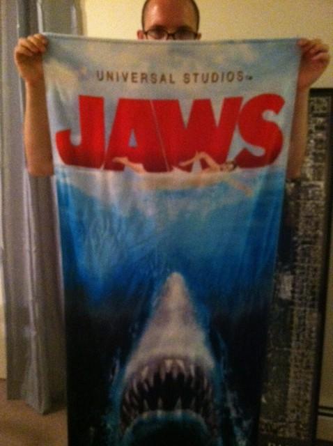 jaws towel