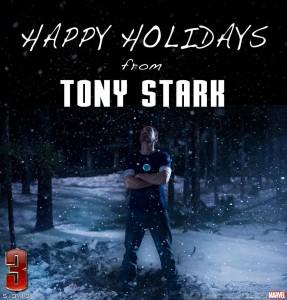 happy holidays iron man 3