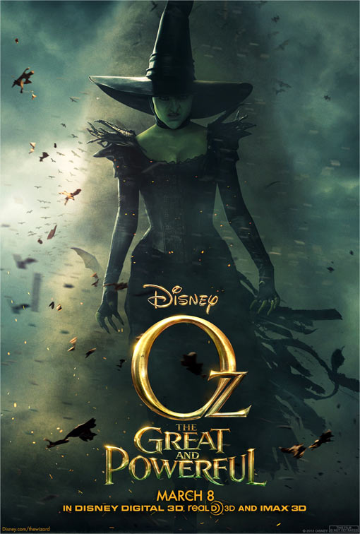 Mila Kunis Wicked Witch official poster