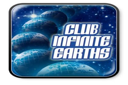 club infinite earths logo long