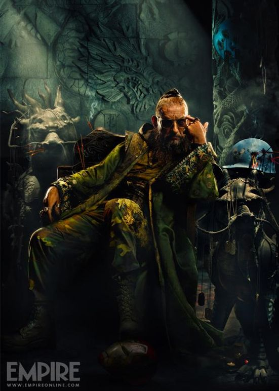 Iron Man 3 FAVORITE mandarin poster EMPIRE