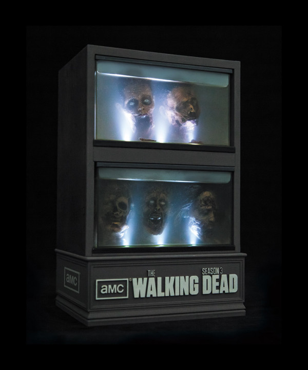 The walking dead seaon 3 bluray special edition
