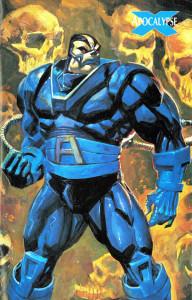 Apocalypse Marvel Comics Trading Card