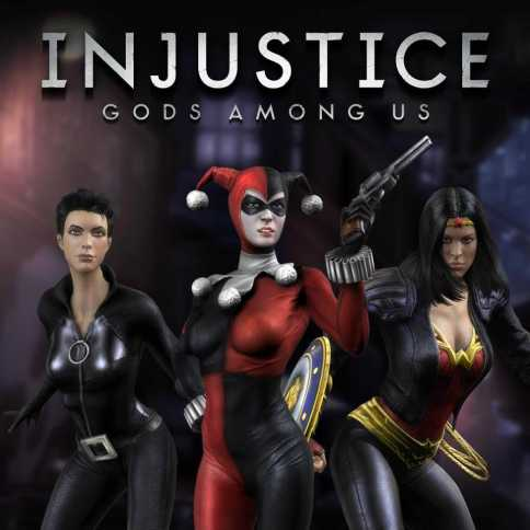 DC Injustice Skin Pack 1