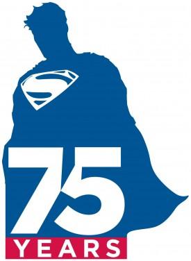 Superman-75-logo