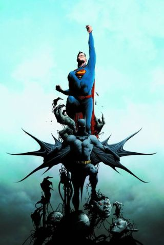 Batman Superman 1 cover