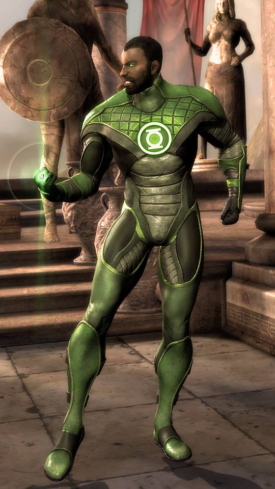 John Stewart Green Lantern Injustice