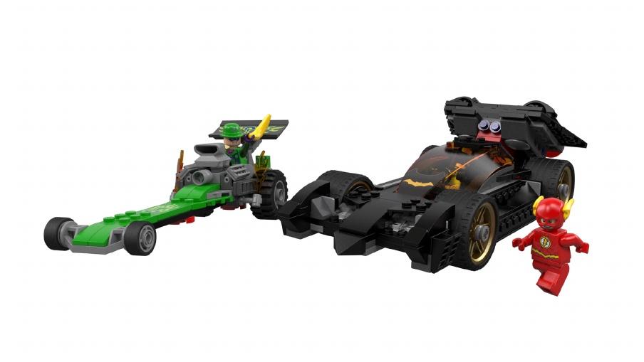 LEGO DC Superheros Batman Riddler Flash