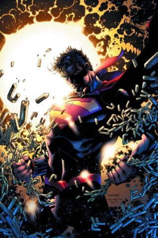 Superman unchained 3 cover