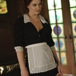 Alexandra Breckenridge sexy maid
