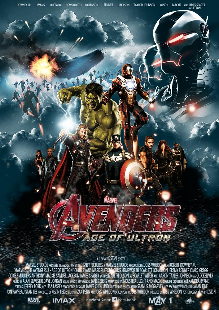 Avengers Age of Ultron fan poster