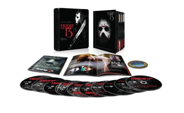 Friday the 13th bluray boxset