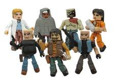 The Walking Dead Minimates 4 Diamond Select