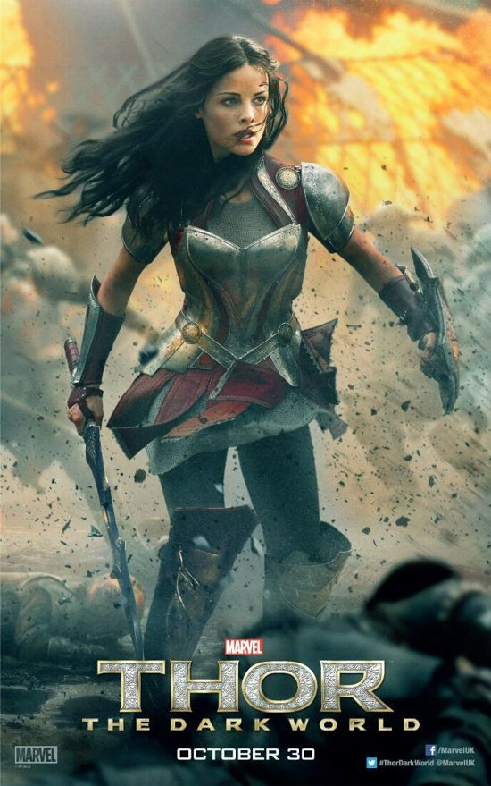 Thor Dark World lady-sif-poster