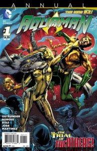 Aquaman Annual 1 cover
