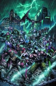 Arkham war 1 cover