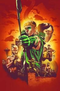 Green Arrow 24 cover