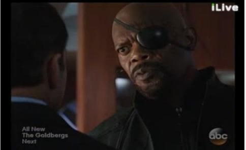Nick Fury Agents of SHIELD